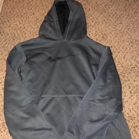 Nike Tops - grey nike sweatshirt